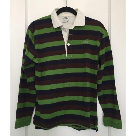 7e574e8e6 lacoste long sleeve polo green sale   OFF74% Discounts